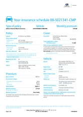 Comprehensive Vehicle Insurance Insurance Cover